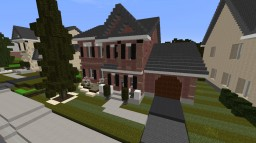 Traditional House Interior ECS Minecraft Map & Project