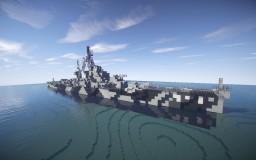 Allen M. Sumner-class destroyer 1:1 - ShipSide - By Lucasdeluc Minecraft