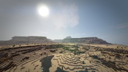 RPG Map - Mesa Oasis Minecraft