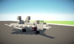 F-22 Raptor US Air Force Fighter Jet 1:1 Scale Minecraft Project