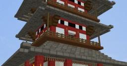 Japanese Dojo in Minecraft Minecraft Map & Project