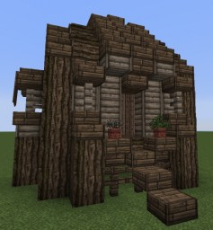 Wooden Cottage 2 Minecraft Map & Project