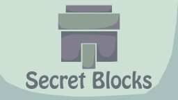 Secret Blocks List Minecraft