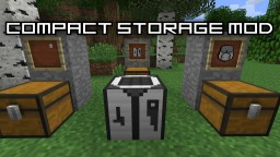 Mod review: COMPACT STORAGE MOD! Minecraft Blog