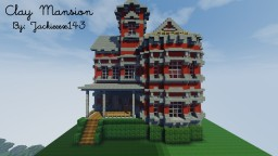 Clay Mansion Minecraft Map & Project