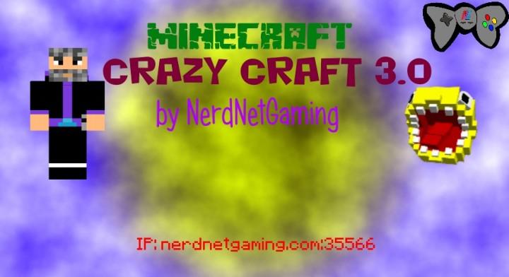 Nerdnetgaming presents crazycraft 3 0 minecraft server for Http test voidswrath com modpacks crazy craft 3 0