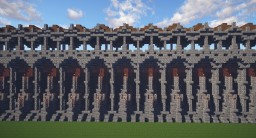 Medieval City || Wall Minecraft Map & Project