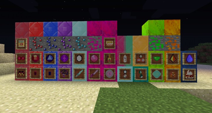 Blocks and Textures