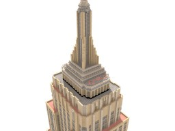 The Real World New York Empire State Building Minecraft