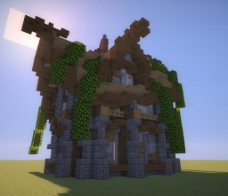 Medieval || Farmers House Minecraft Map & Project