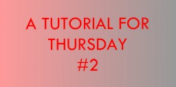 A Tutorial for Thursday #2 A Fold-Away Bridge! Minecraft Blog