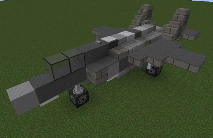 F-35A & Lockheed Martin F-35 Lighting II Family 1:1 Minecraft Project