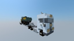 Over-size Volvo FH16 I Vehicle Minecraft Map & Project
