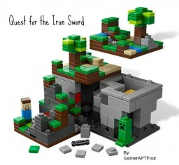QUEST FOR THE IRON SWORD Minecraft Blog Post