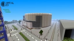 Madison Square Garden 1:1 | Capital City PS4 [BUILT BLOCK BY BLOCK] Minecraft Project