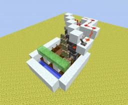 Quintuple Piston Extender Melon/Pumpkin Farm Minecraft Map & Project