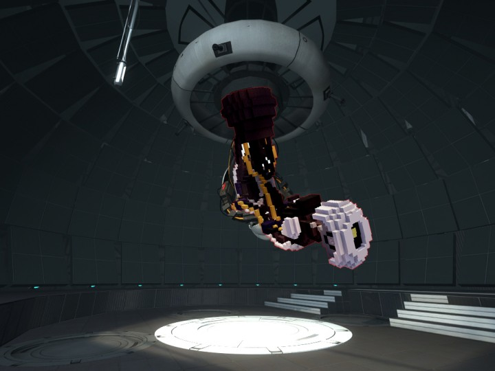 Glados From Portal 1 2 Minecraft Project