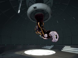 GlaDOS from Portal 1 & 2 Minecraft Map & Project