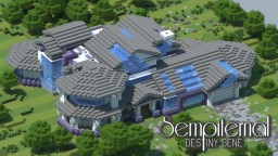 Sempiternal - Victoria Advance (Contemporary Victorian Modern Mansion)(1.7+)(Pop Reel) Minecraft