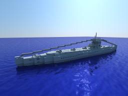 Submarine U 75 Minecraft Map & Project
