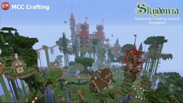 Skydonia Floating Island Kingdom In The Sky