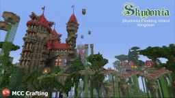 Skydonia Floating Island Kingdom Parkour Adventure Map Minecraft PS3/PS4/XBOX/CONSOLE Minecraft Project