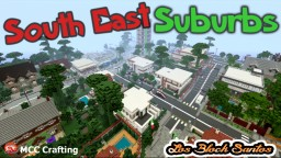 South East Suburbs LBS City Los Block Santos House Minecraft PS3/PS4/XBOX/CONSOLE Minecraft Map & Project