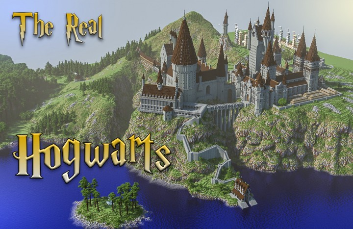 The Real Hogwarts (download) Minecraft Project