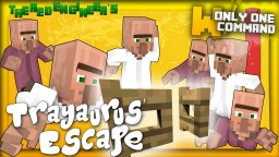 TRAYAURUS' ESCAPE minigame with only one command block