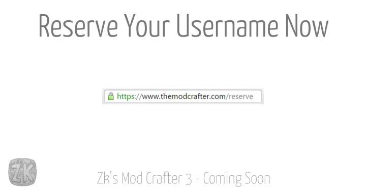 Reserve you username now!