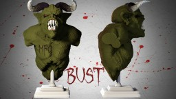 Demon bust Minecraft Map & Project