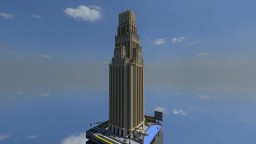 1920s Art Deco Architecture Office Building Minecraft