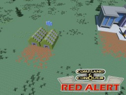 C&C Red Alert Barraks Allies