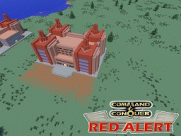 C&C Red Alert Adv. Power Plant Minecraft Project