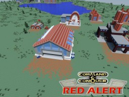 C&C Red Alert War Factory Minecraft Map & Project
