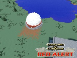 C&C Red Alert Radar Dome Minecraft Map & Project