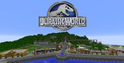 Jurassic World Map 1.10 Minecraft