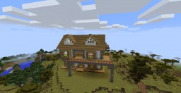 Wooden House 3 Minecraft Map & Project