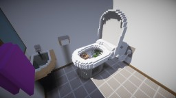 Toilet House Minecraft Map & Project