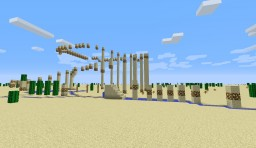 The Ultimate Desert Parkour #1 Minecraft Map & Project