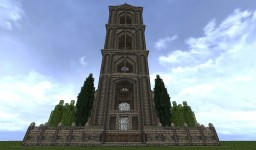 Town Tower House Minecraft Map & Project