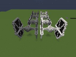 Imperial TIE Fighter Collection | Added 3 new variants! Minecraft Map & Project