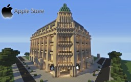 Apple Store World 1:1 Minecraft Project