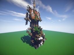 Victorian Steam Punk Minecraft Map & Project