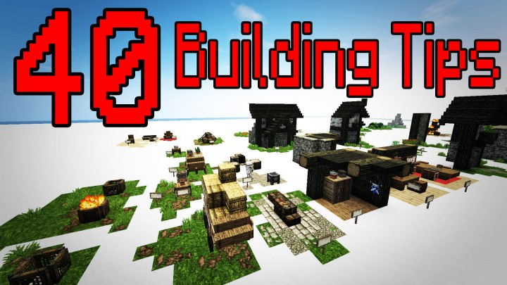 Minecraft Creative Tips Tricks: 40 Building Tricks/Tips Minecraft Project
