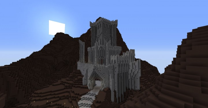 Beginning of Cirith Ungol - The fortress where they take Frodo after hes poisoned by Shelob