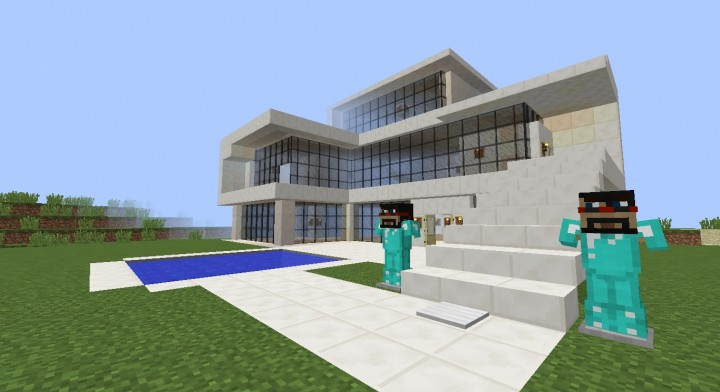 how to build the captainsparklez mianite house on minecraft