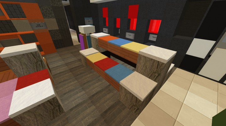 Suburban Clothing Store Ecs Minecraft Project