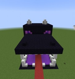 Ender Dragon House Minecraft Map & Project