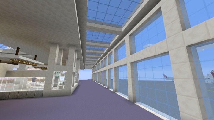 International Terminal- Gate floor --Work in progress